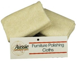 Aussie Furniture Care Furniture Polishing Cloths 2 pack