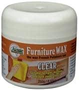 Aussie Furniture Care Furniture Wax 250 Gr Clear