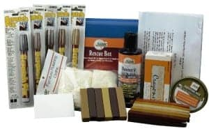 furniture repair kit. aussie furniture care rescue box repair kit contents