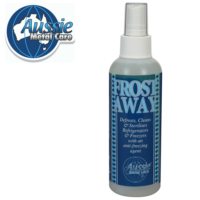 Aussie Metal Care Frost Away 200ml Bottle with Logo