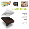 CB140 3 LAYER DESIGN GORILLA GRIPPER PADS 4 INCH STOPS FURNITURE FROM MOVING AND PROTECTS YOUR FLOORS