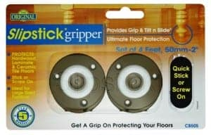 CB505-Slipstick Foot 50mm Gripper Foot Colour Chocolate