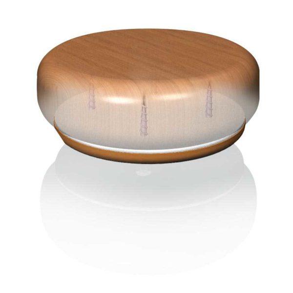 Furniture gripper 82mm round floor protector furniture for Furniture grippers