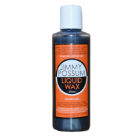 Bottle of Jimmy Possum Liquid Wax Furniture Polish 250ml Charcoal