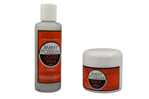 Jimmy Possum Paste Wax Natural 250ml Jimmy Possum Liquid Wax Natural 250ml