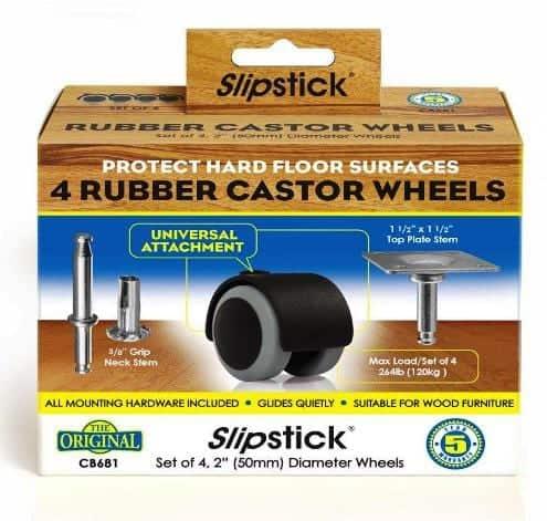 Rubber Castor Wheels CB681