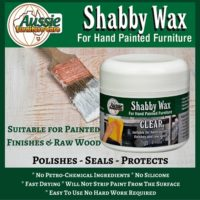 Shabby Wax Paste Suitable for Painted Finishes & Raw Wood